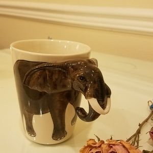 Elephant mug 12oz ceramic